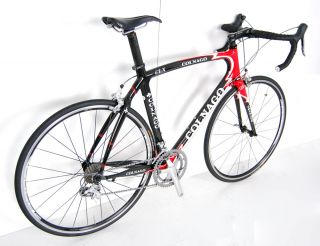 Colnago Carbon Road Bike Shimano Ultegra Race Bicycle FSA TT Tri