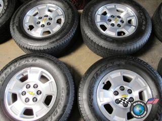 Tahoe Silverado Factory 17 Wheels Tires Rims 5299 Suburban 1500