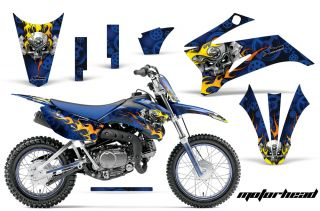 AMR Racing Off Road Number Plate Motorcycle Graphic Kit Yamaha TTR 110