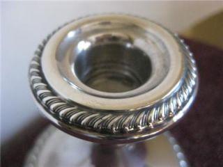 Ellmore Sterling Silver Candlestick Candle Holder 230