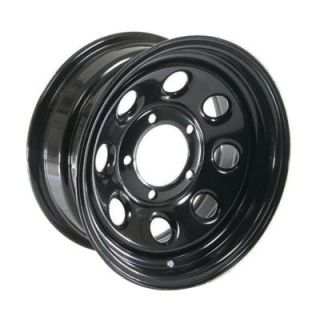 Cragar Soft 8 Black Steel Wheels 15x7 5x5 5 Set of 4