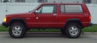 1984 2001 Jeep XJ Cherokee 3 Lift Kit 670N2
