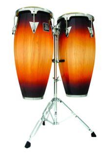 New Latin Percussion Aspire LPA646 VSB Conga Drum Set