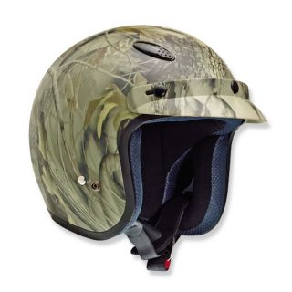 Vega x 280 Open Face Motorcycle Street Bike Helmet