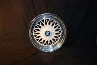 White BBs RC 8x17 BMW Styling 5 Rims Mirror Polished