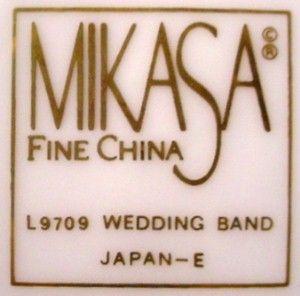 Mikasa China Wedding Band Gold Pattern L9709 Teapot Tea Pot