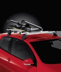 New VW Base Carrier Cross Bars MK5 GTI MK6 Golf GTI R32 06 07 08 09 10