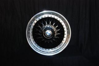 Black BBs RC 8x17 BMW Styling 5 Rims Mirror Polished