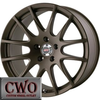 18 Bronze 5Zigen ZR+ Wheels Rims 5x100 5 Lug WRX Impreza Subaru XD