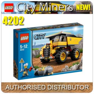 4202 LEGO Mining Truck LEGO City Mining Age 5 12 / 269 Pieces 2012 New
