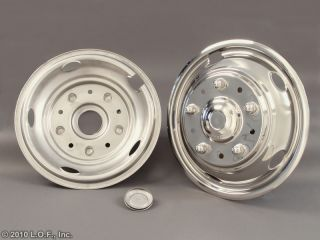 2003 2011 Ford 19 5 x 6 Stainless Dually Wheel Simulators Liners 10