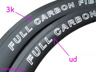 Full Carbon Clincher Tubular Road Bike 700c Wheel Rims