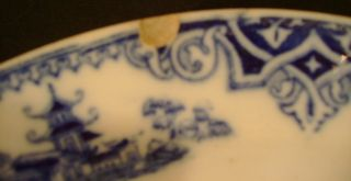 Petrus Regouta Co Maastricht Honc Flow Blue Plate from Holland