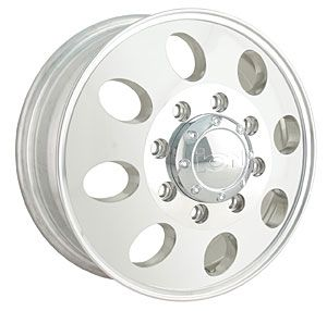 Detroit Wheels 167 6681FP ion 167 Series Polished Aluminum Dually