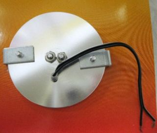 12 Volt Round Dome Light with Button Smooth Rim Interior Light