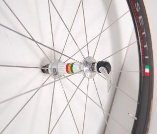 Rossetti Carbon Deep Dish Tubular Road Bike Wheelset TT Tri Bicycle