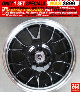 19 inch Wheels Rims Monarchver One Mercedes Honda Acura