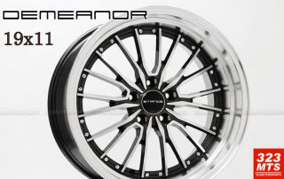 19 Infiniti G35 G37 Wheels Rims Stance Demeanor 19x8 5 19x9 5 New in