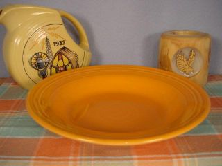 Tangerine Fiesta® 9 Rim Soup Small Pasta Bowl 451 Liquidation Sale