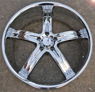 Devino Flawless 762 22 Chrome Rims Wheels Chrysler 300 300C V6 V8