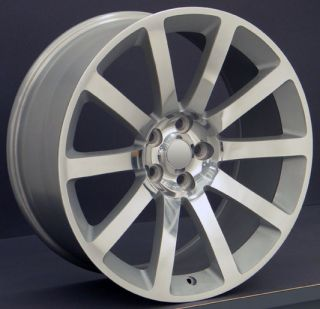 20 Rim Fits Chrysler 300 SRT Wheels Silver 20x9 Set