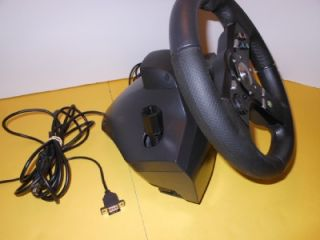 Drivefx Steering Wheel for Xbox 360 All Cables Including USB