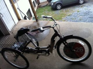 Schwinn Meridian Adult 26 inch 3 Wheel Bike Local Pick Up Only Reading