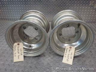 Yamaha Warrior 350 02 Rear Wheel Rim Pair 9 x 8 5