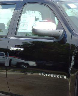 2007 2011 Chevrolet Silverado 2dr Chrome Door Handle Covers