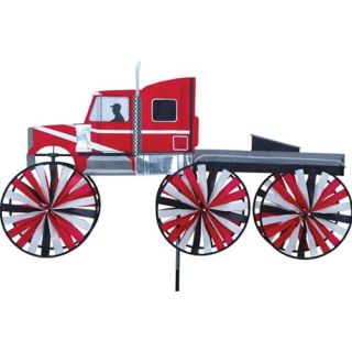 Big Rig Truck Yard Garden Ground Wind Spinner Decoration