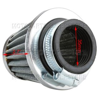 35mm Air Filter 50cc 70 90 110cc ATV Quad Pit Dirt Bike Go Kart Sunl