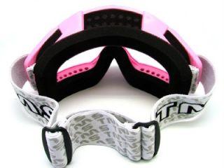 Adult Pink Goggles Motocross MX Dirt Bike ATV Off Road