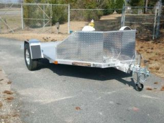 MC210 Double Motorcycle Aluma Aluminum Trailer 2013 New w Upgraded