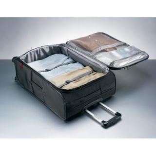 Samsonite 3 piece travel luggage set w/27 & 21 spinner Black his/her