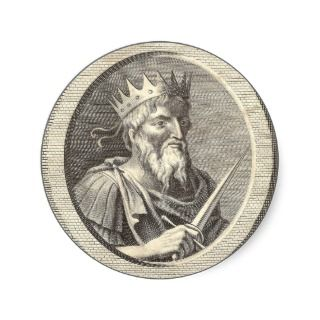 Sigismund, Holy Roman Emperor, King of Hungary Sticker