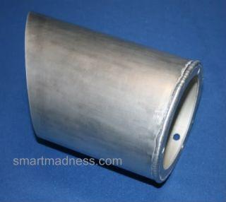 Smart Car RAM Air Intake Powder Coated in Silver