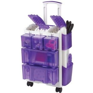 Wilton Cake Decorating Supplies LG Ultimate Rolling Tool Storage Caddy