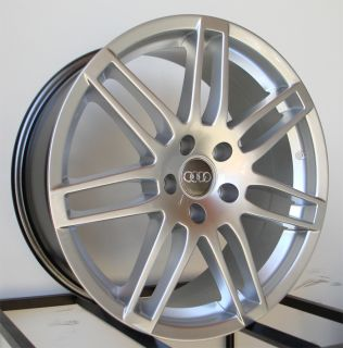 18 Audi RS4 Wheels Rims Fit B5 B6 B7 S4 S6 V6