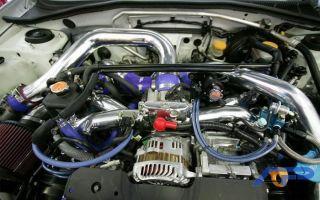 Agency Power Subaru WRX STI 2 0L 2 5L GT35R Turbo Kit Tial Wastegate