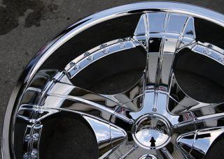 Devino Adana 430 20 Chrome Rims Wheels Lincoln Mark Lt