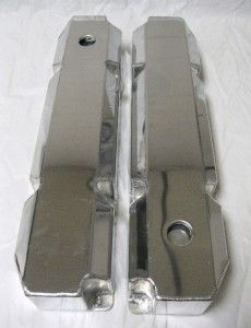 Big Block Chrysler Mopar 440 Polished Aluminum Tall Fabricated Valve