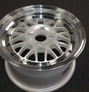Stance Wheels Mindset 15x8 25 4x100 Pearl White Honda Mazda Scion