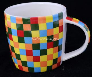 Over and Back Indoor Outfitters Multi Square Coffee Mug