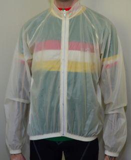 Shimano Pro Rain Cover Cycling Jacket Size Small Used