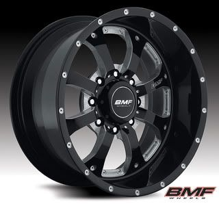 2011 Chevy GMC 2500HD BMF Novakane Wheels Black 20 x 10