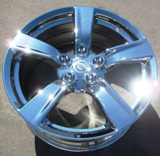 YOUR STOCK 4 18 FACTORY INFINITI 370Z OEM CHROME WHEELS RIMS 2010 12