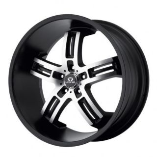 20 Staggered Matte Black Wheels Rims 2005 2012 Mustang