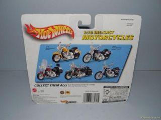 Hot Wheels 2000 Harley Davidson Motorcycle Collection 5 Packs Complete