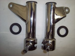 81 82 Honda CB400 CB 400 T 450 Hawk Headlight Brackets