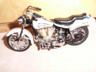 Franklin Mint Harley Davidson Mini Bikes 1 24 RARE